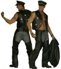 Biker Fancy Dress Costume